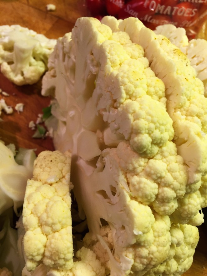 Sliced Cauliflower