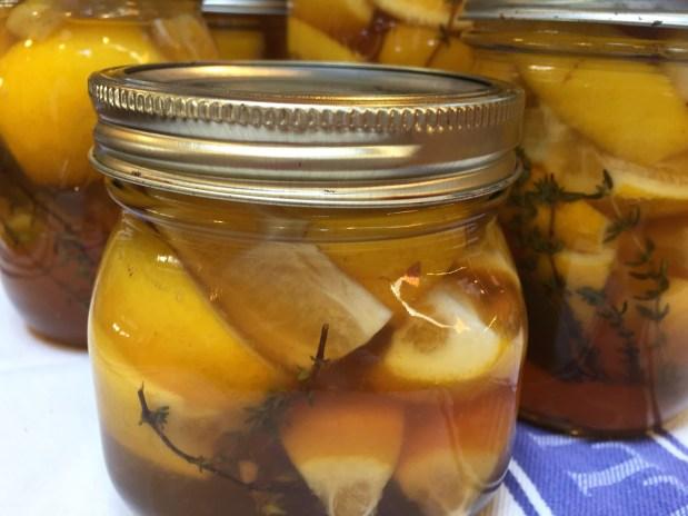April – Preserving Meyer Lemons – Meyer Lemon Aigre-doux