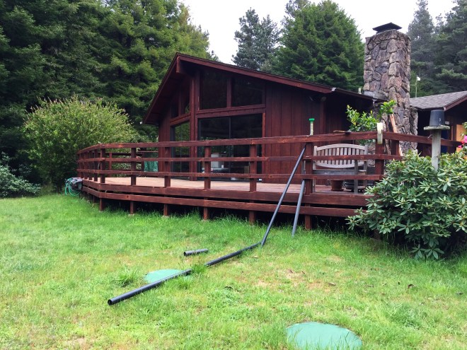 Fort Bragg front meadow deck