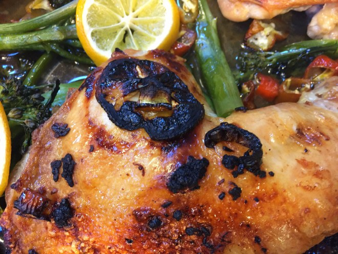 Chicken with Broccolini