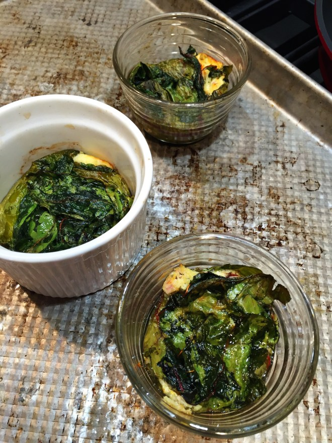 Greek Pies wrapped in Chard
