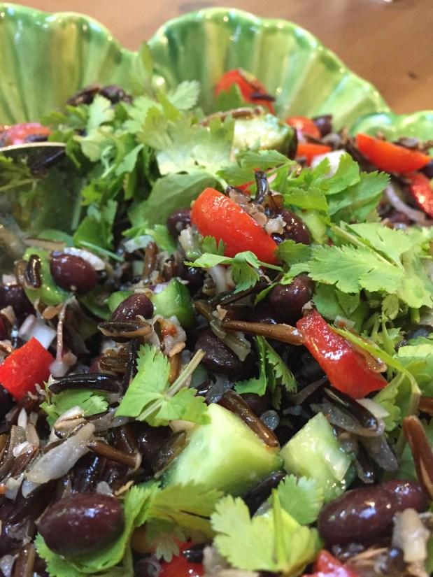 May – Wild Rice and Black Bean Salad