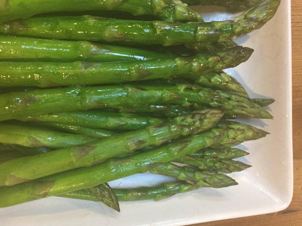 May – Sous vide asparagus