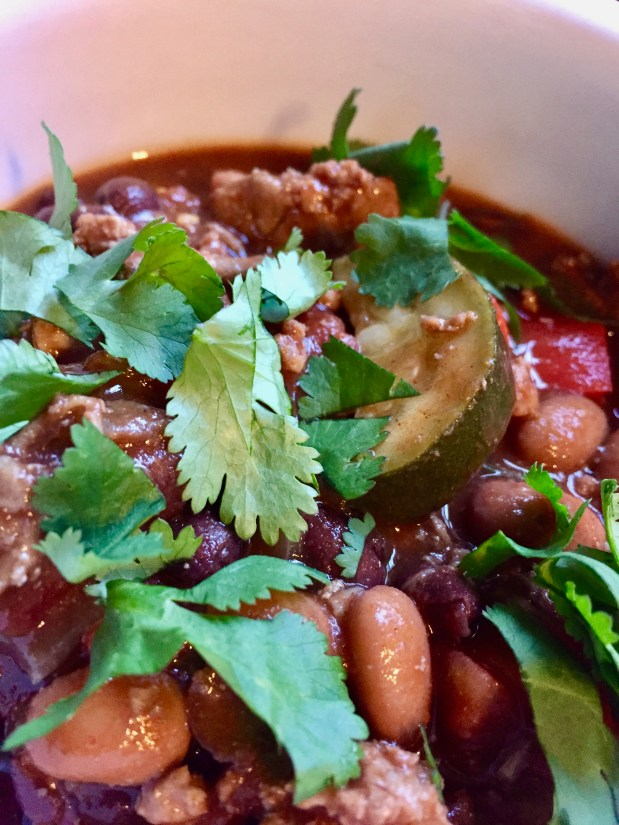 January – Turkey Chili