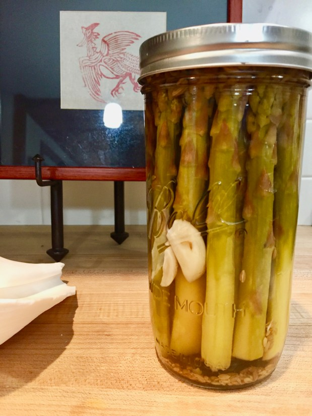 May – Pickled Asparagus