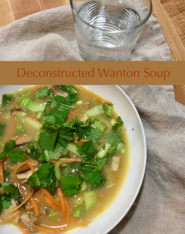March – Deconstructed Wanton Soup