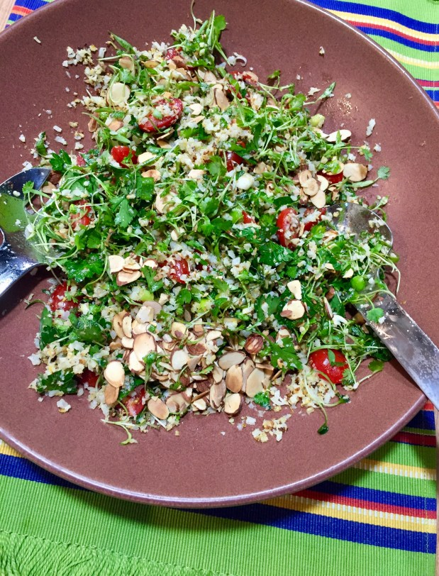 May – Middle Eastern Herb and Cauliflower Salad
