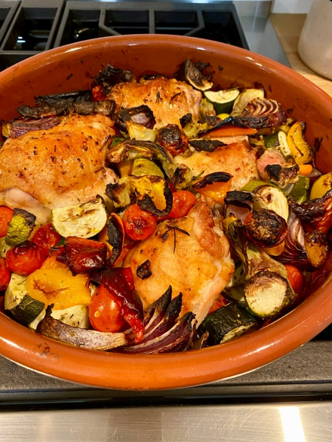 Greek Chicken with Whole Thighs