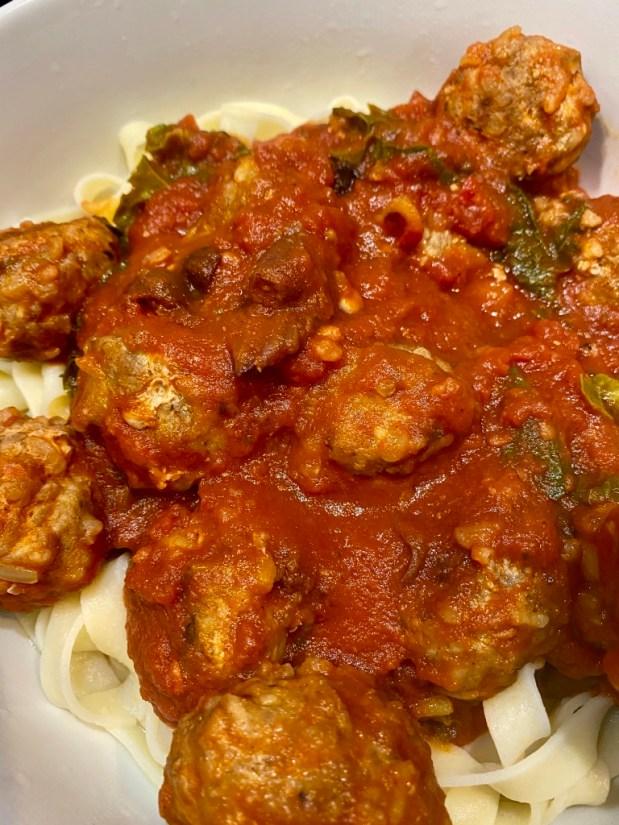 April – Gluten Free Italian Meatballs