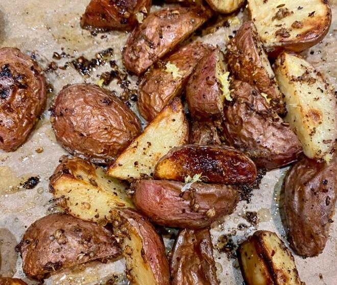 Spicy Toasty Potatoes