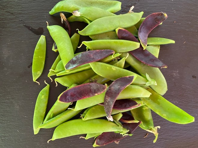 Snap and Snow Peas