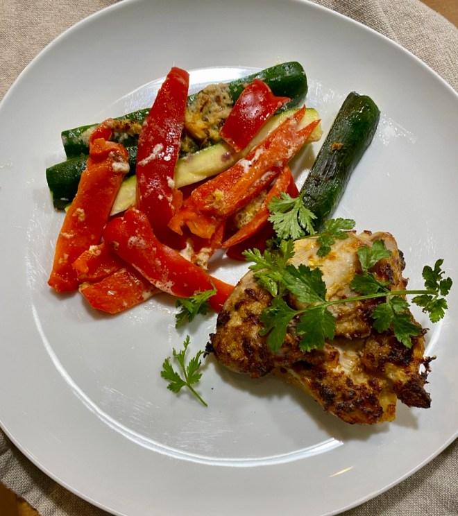 Thai Inspired Roast Chicken