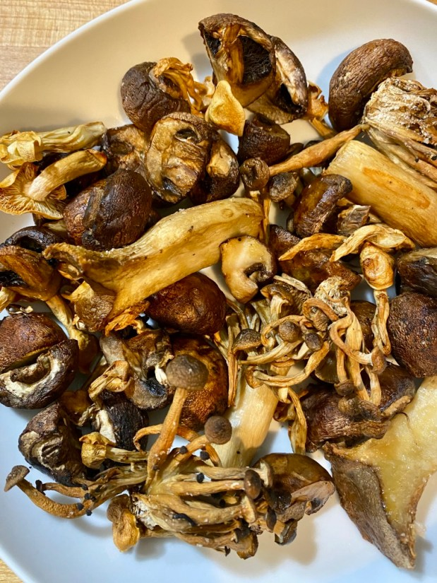 February – Air Fryer Mushrooms