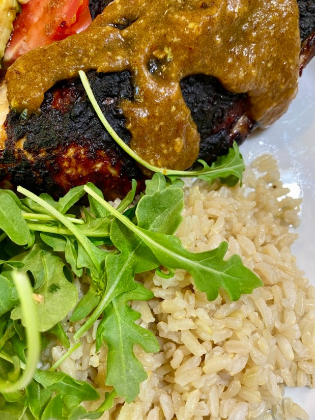 June – Teriyaki Chicken with Coconut Rice