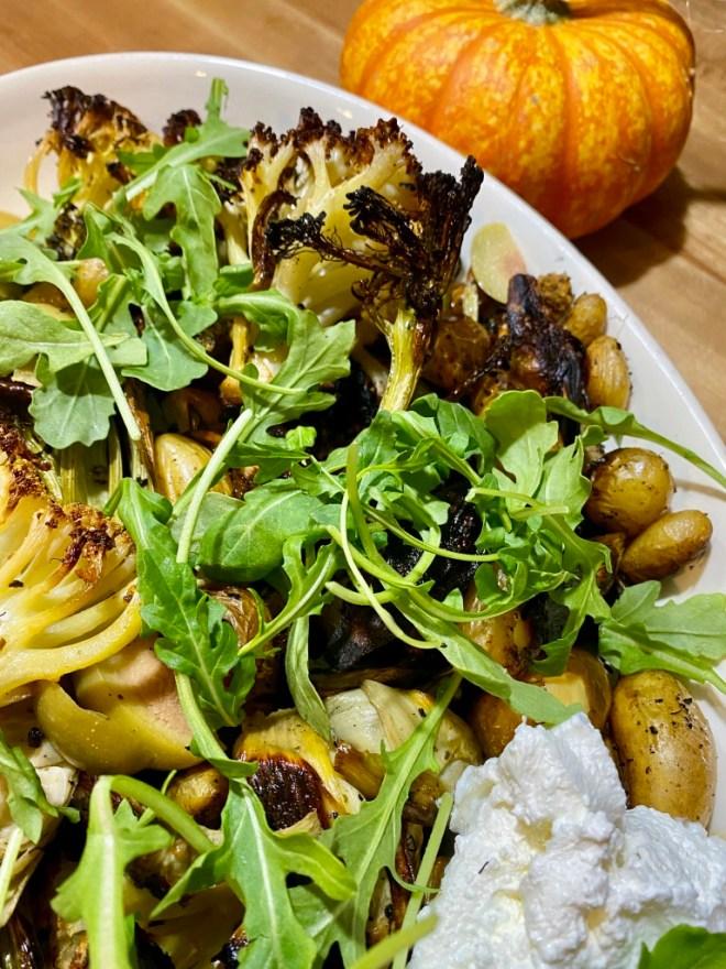 Sheet Pan Cauliflower, Potatoes and Broccoli