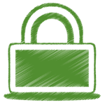green-lock-icon