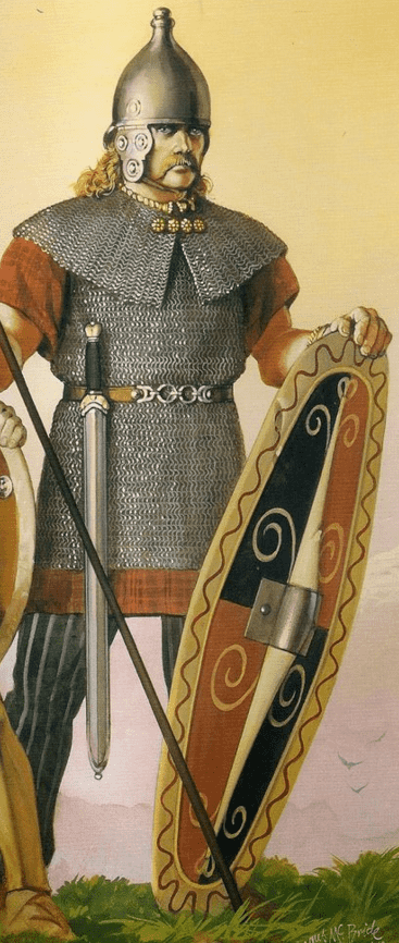 Художня реконструкція кельського воїна