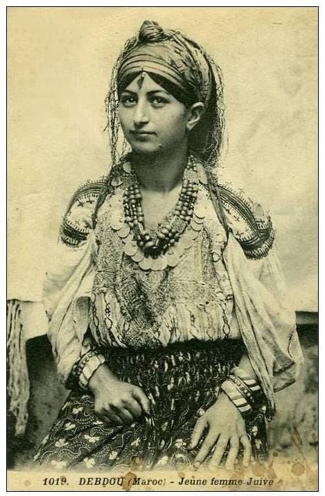 juive berbère marocaine