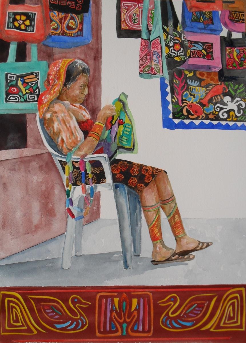 Kuna Indian woman of Panama