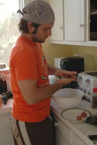 Making da meatballs!