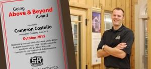 Cameron Above and Beyond Award