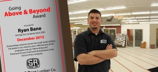 Ryan Above and Beyond Award-Marshalltown
