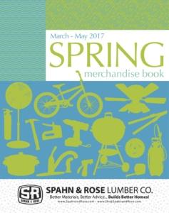 Spring Merchandise Book Catalog