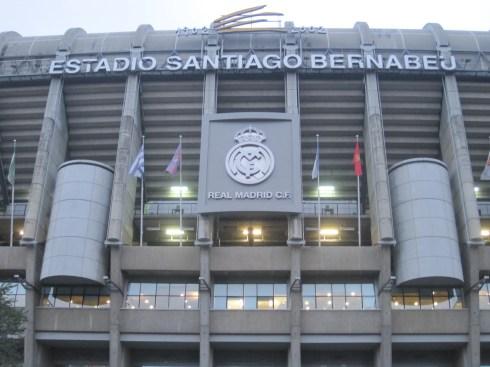 El Bernabeu, Madrid, Santiago