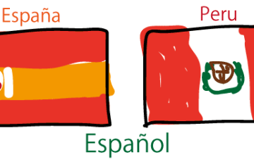 スペイン語 単語 スペイン ペルー