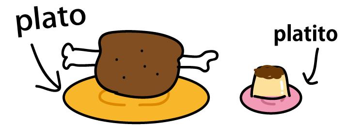 スペイン語 お皿 小皿