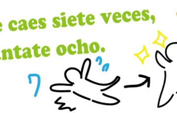 スペイン語 ことわざ 7転び8起き