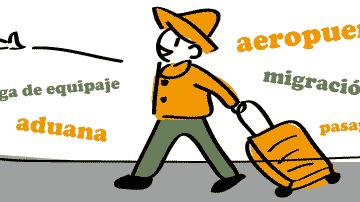 スペイン語 空港 aeropuerto