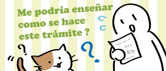 スペイン語 手続き