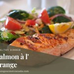 Easy Salmon à l'orange Dinner