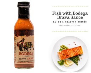 Fish with Bodega Brava Sauce
