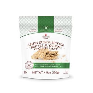 quinoa brittle sweet and salty
