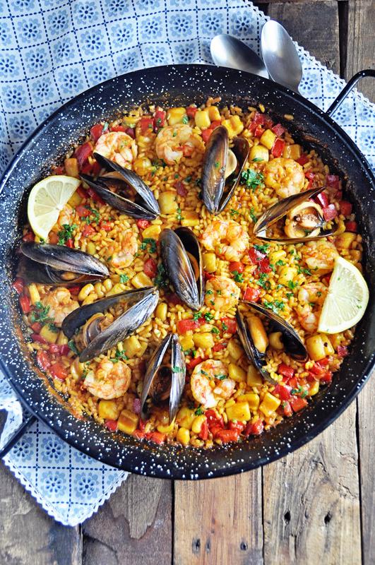 Authentic Spanish Seafood Paella Recipe
