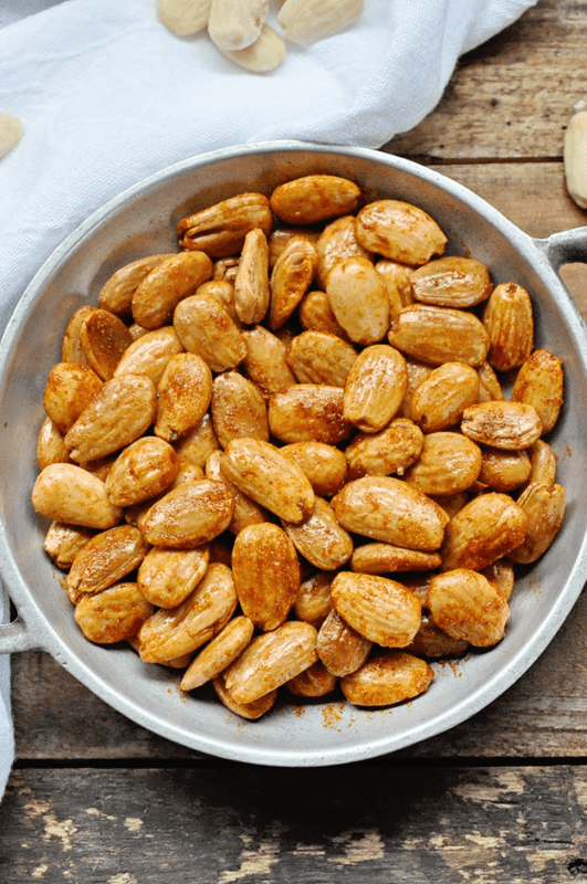 How to Make Spicy Pan Fried Spanish Almonds