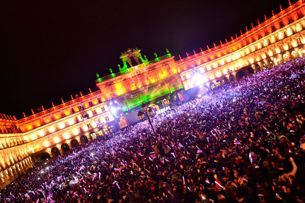 Fiesta nochevieja universitaria de Salamanca