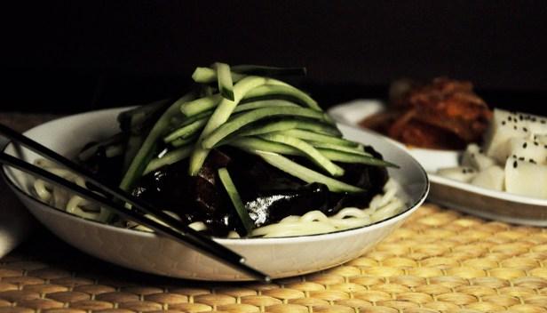 Pastes: Jjajangmyun (Korean Black Bean Sauce Noodles)