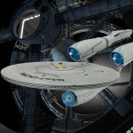 El USS Defiant  y los Tholianos