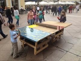 PLATTFORMER: Ping pong in the city / Sonic Platforming, MMSU Rijeka, May 2013