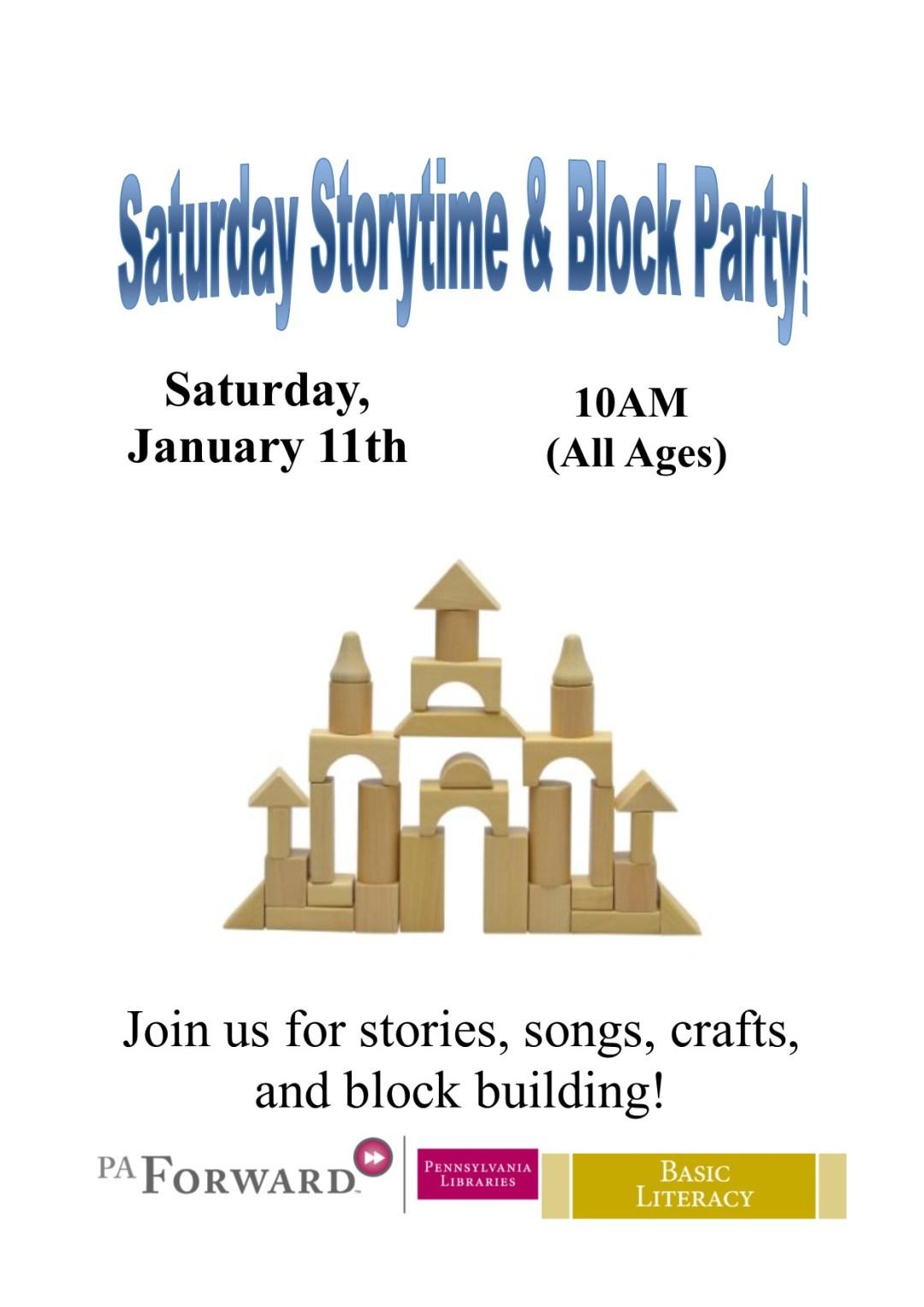Saturday Storytime Block (2)
