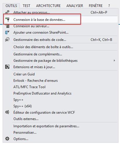 Création d'un type de contenu externe et utilisation du secure store service  via Visual Studio 2012 (4/6)