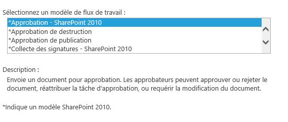 Utilisation des workflows SharePoint 2013 (3/6)