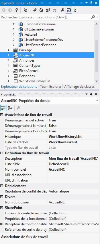 Création d'un workflow de type State Machine (machine à état) SharePoint 2013 (5/6)