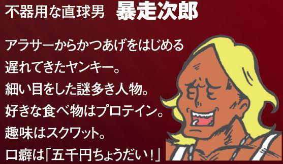 暴走次郎紹介