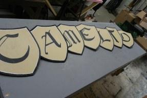 Camelot Letter Shields