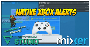Native Xbox Mixer Streaming with Lightstream Studio