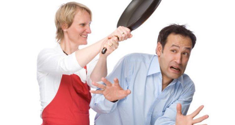 wife-frying-pan-husband